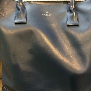 Mulberry Napa leather tote